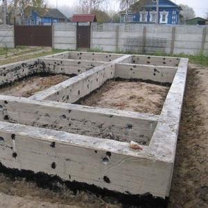 Монолитные работы,  фундаменты под ключ в Сморгони
