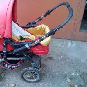 Детская коляска б/у babi Merc