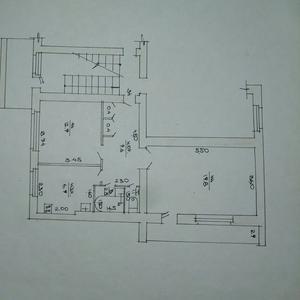 Обменяю 2-комнатную на 1-комнатную в г.Сморгонь с доплатой