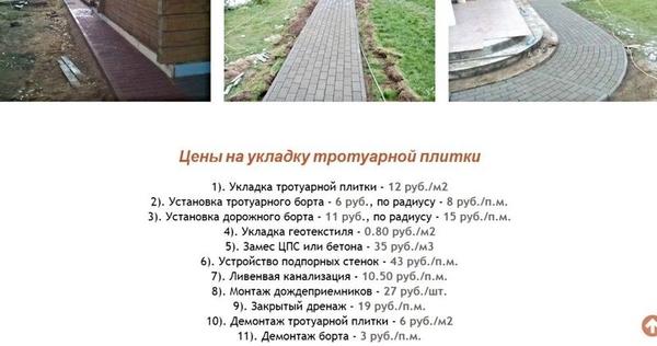 Тротуарная Плитка. Укладка от 100 м2 Сморгонь и Минск 2