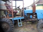 Трактор на базе МТЗ-50.