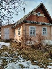 Продам дом,  100 км от Минска,  в дер. Вауки,  Кревский с/с,  Сморгонский